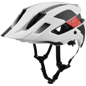Fox Flux Mips Conduit Bike Helmet Men white/black